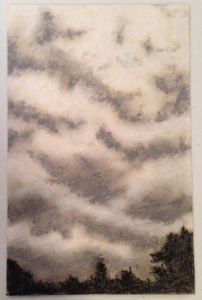 Charcoal clouds