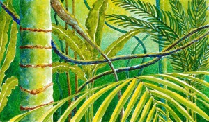 Jungle background 2
