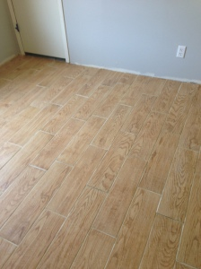 finished floor