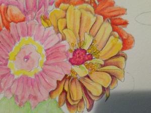 A abundance of Zinnas means you draw Zinnas!